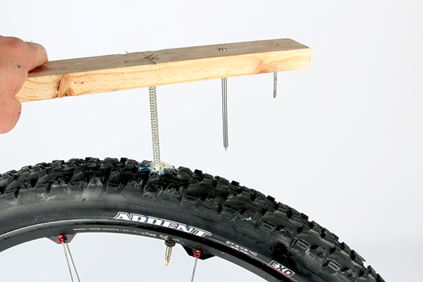 Tubeless Tire Puncture Test