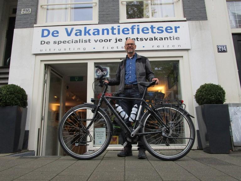 Ernst-Jan kwam bij ons zijn nieuwe Koga ophalen.