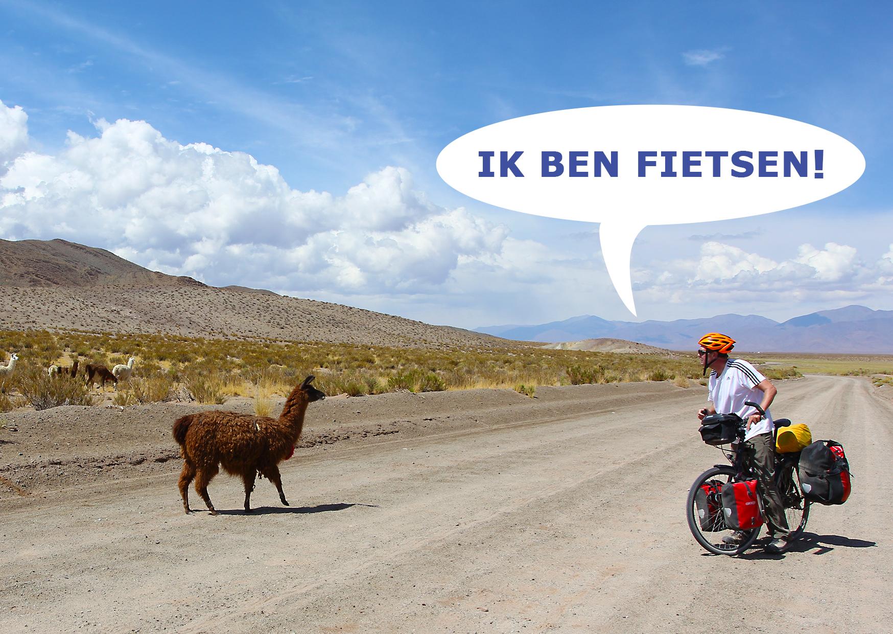 Fietsen van Argentinië naar Chili: volg Carla en Eric op fietsreis