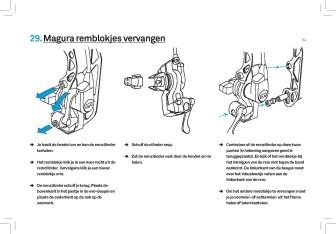 Voorbeeldpagina uit boek Fietspech, fietsreparaties voor onderweg