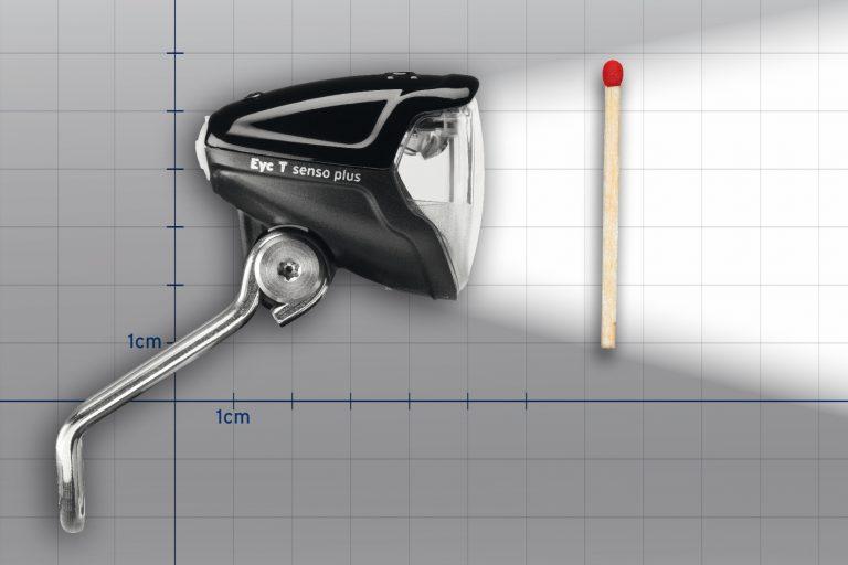 Busch & Muller Eyc T fietskoplamp zwart