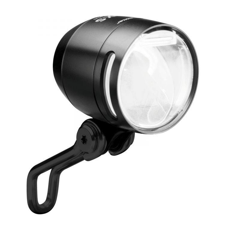 Busch & Muller IQ-XS fietskoplamp zwart