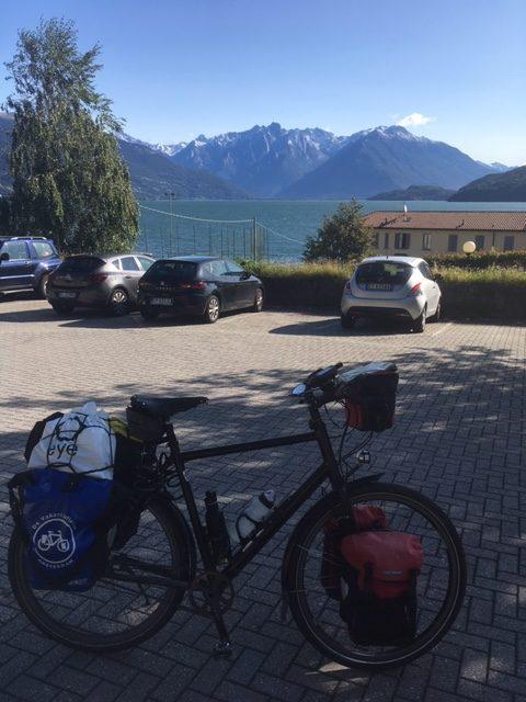 Ed's idworx Easy Rohler bij de Bodensee en bergen