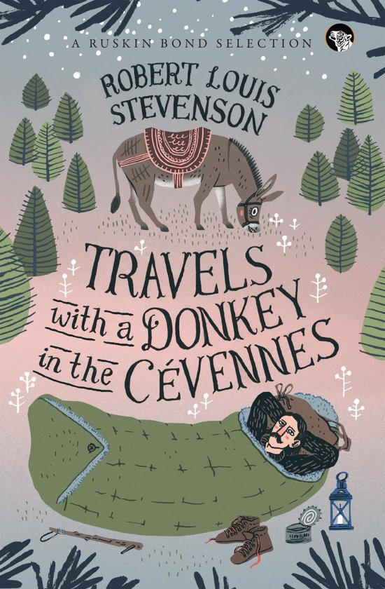 Voorkant van boek Travels with a donkey to the Cevennes