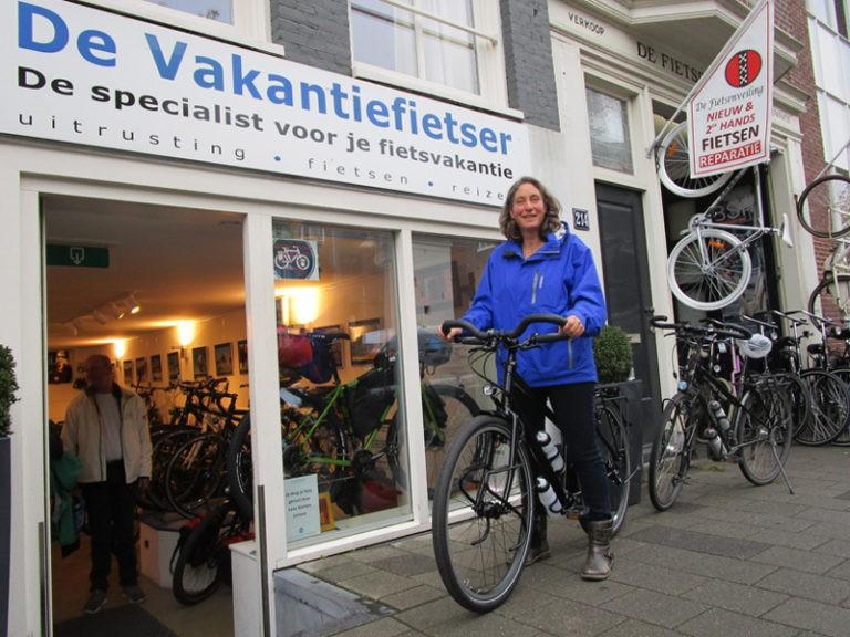 Martine fiets vanaf nu op haar Idworx Easy Rohler