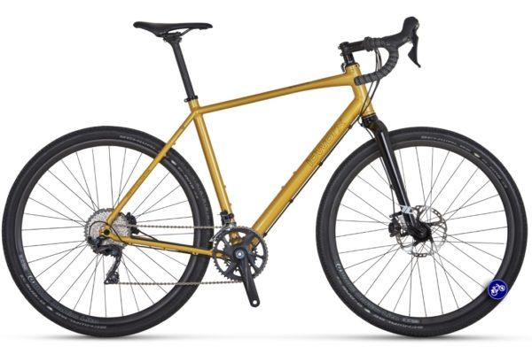 idworx Grandone gravel sparkling yellow randonneur bikepackingfiets