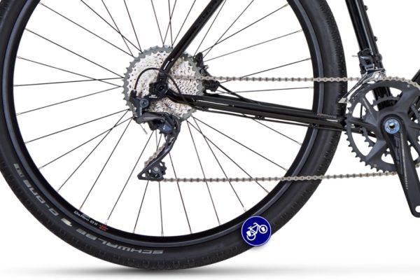 idworx Grandone sport glossy black