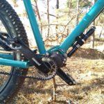 Pinion C1.12 versnellingbak met riem. Meer fietsen, minder schoonmaken. + ruimte voor een pompje of een gasfles op de onderbuis.