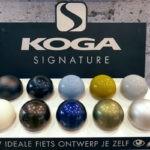 Koga Signature frames zijn verkrijgbaar in 10 kleuren