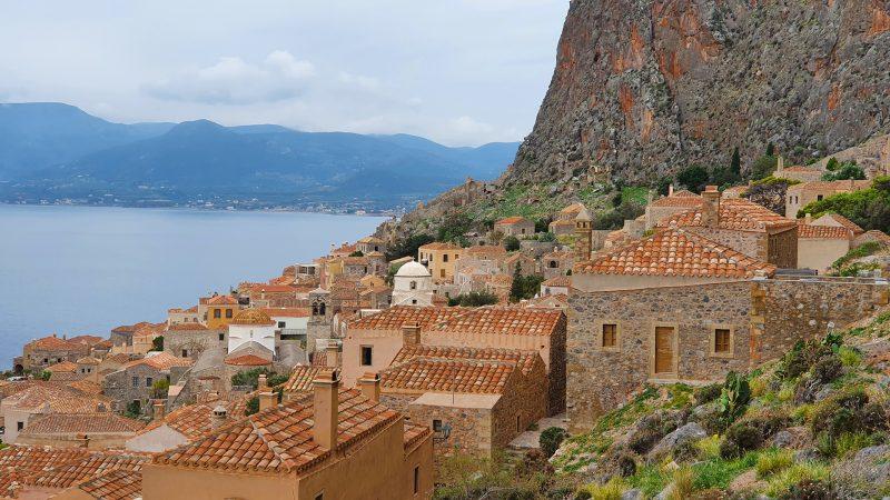 Momemvasia Griekenland berg