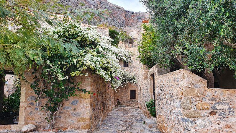Momemvasia Griekenland straatje
