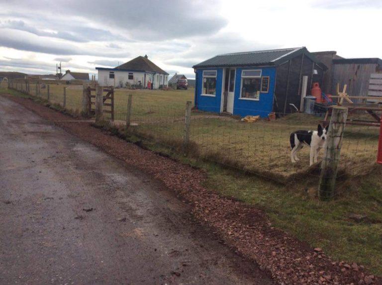 Flossie's Beach Shop Highland Trail Schotland