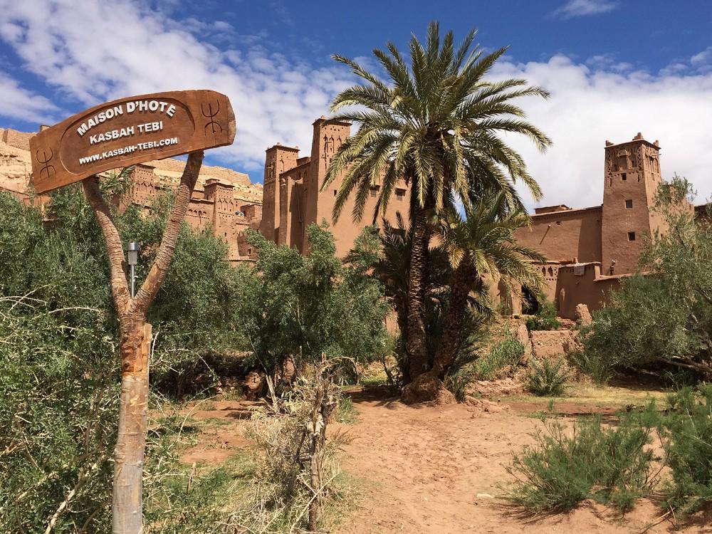 Hotel Kasbah Tebi in Marokko