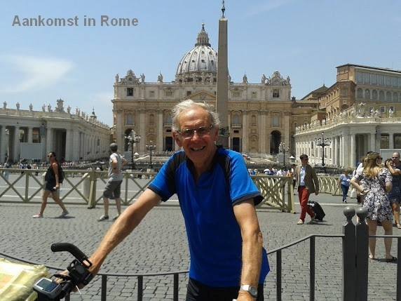 Medewerker Jürg in Rome