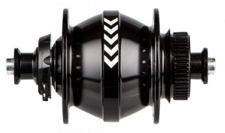 Shutter Precision PL8 naafdynamo zwart
