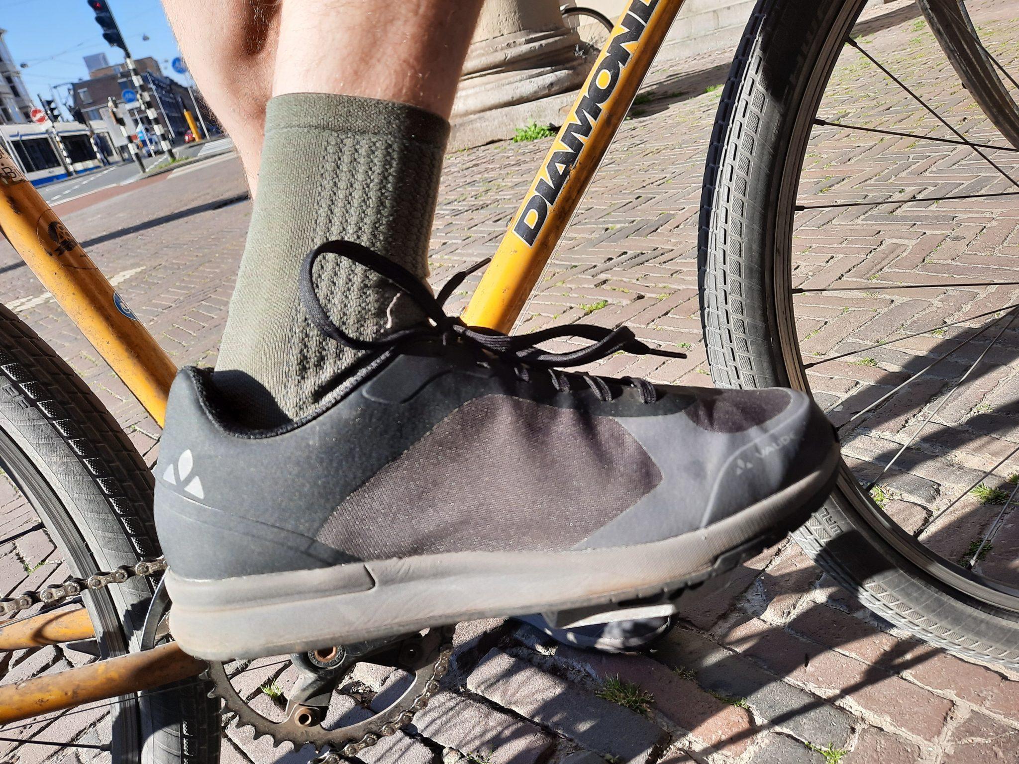 [Review] Ecovriendelijke fiets- en wandelschoen van Vaude TVL Asfalt Tech Dualflex