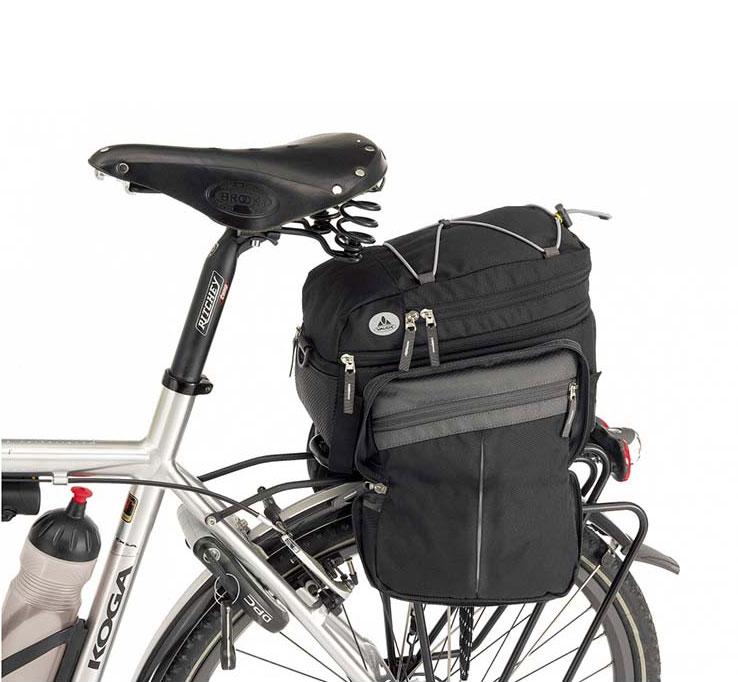 vaude silkroad plus fietstas de vakantiefietser. Black Bedroom Furniture Sets. Home Design Ideas